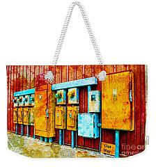 Electrical Boxes Iv Weekender Tote Bag