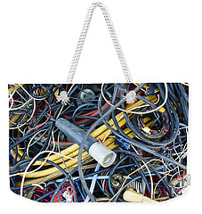 Electrical Cord Picking Weekender Tote Bag