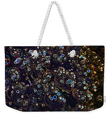 Electrified Neon Bubbles Weekender Tote Bag