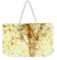 Electron Positron Particle Shower Weekender Tote Bag