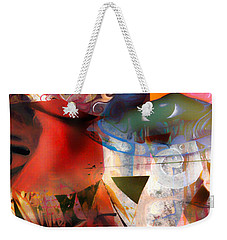 Elements Of Estrogen  Weekender Tote Bag