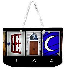 Elements Of Peace Weekender Tote Bag