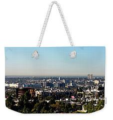 Elevated View Of City, Los Angeles Weekender Tote Bag