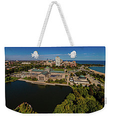 Elevated View Of The Museum Of Science Weekender Tote Bag