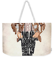 Eleventh Doctor - Doctor Who Weekender Tote Bag