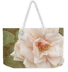 Elie Beauvillain Rose Textured Art Weekender Tote Bag