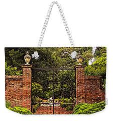 Elizabethan Gardens Weekender Tote Bag by Lydia Holly