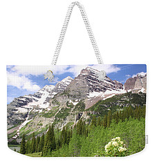Elk Mountains Weekender Tote Bag