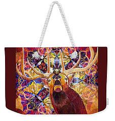 Elk Spirits In The Garden Weekender Tote Bag