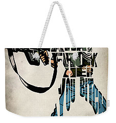 Ellen Ripley From Alien Weekender Tote Bag by Ayse Deniz