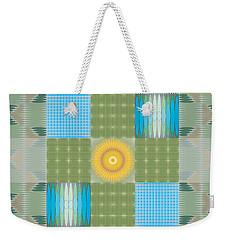 Ellipse Quilt 1 Weekender Tote Bag by Kevin McLaughlin