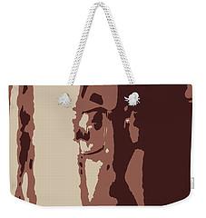 Elongated  Weekender Tote Bag