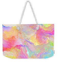 Eloquence - Abstract Art Weekender Tote Bag by Jaison Cianelli
