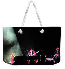 Elton And Band Weekender Tote Bag by Aaron Martens
