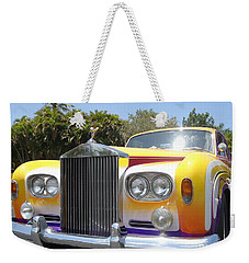 Elton John's Old Rolls Royce Weekender Tote Bag by Barbie Corbett-Newmin