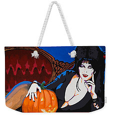 Elvira Dark Mistress Weekender Tote Bag