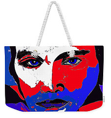 Elvis Made In The U S A Weekender Tote Bag by Saundra Myles