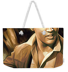 Elvis Presley Artwork Weekender Tote Bag