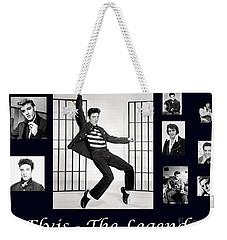 Elvis Presley - The Legend Weekender Tote Bag
