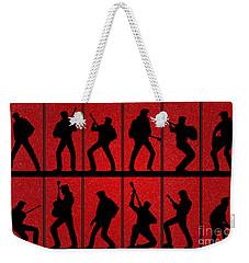 Elvis Silhouettes Comeback Special 1968 Weekender Tote Bag