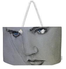 Elvis's Blue Eyes Weekender Tote Bag