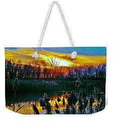 Emagin Sunset Weekender Tote Bag by Daniel Thompson