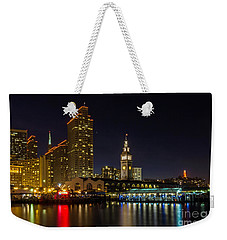 Embarcadero Blue Hour Weekender Tote Bag