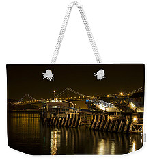 Embarcadero Boats Weekender Tote Bag