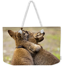 Embrace Weekender Tote Bag by Mike  Dawson