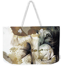 Embryonic IIi With Texture Weekender Tote Bag by Paul Davenport