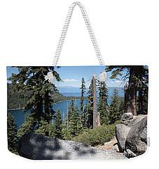 Emerald Bay Vista Weekender Tote Bag