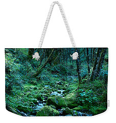 Emerald Forest Weekender Tote Bag by Nick Kloepping