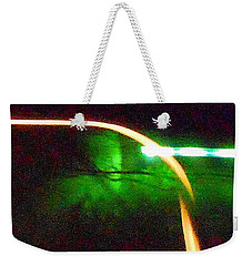 Emerald Fusion Weekender Tote Bag