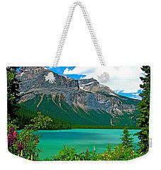 Emerald Lake In Yoho Np-bc Weekender Tote Bag