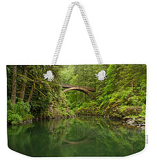 Emerald Reflections Weekender Tote Bag by Patricia Davidson