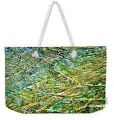 Emerald Water Weekender Tote Bag