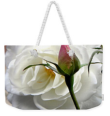 Weekender Tote Bag featuring the photograph Emergence by Deb Halloran