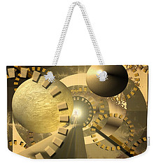 Weekender Tote Bag featuring the digital art Emergence by Vincent Autenrieb