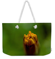 Emerging Bud - Yellow Flower Weekender Tote Bag