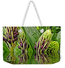 Emerging Weekender Tote Bag by Debbie Portwood