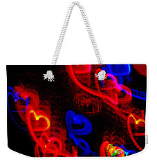 Weekender Tote Bag featuring the photograph Emotions by Rowana Ray