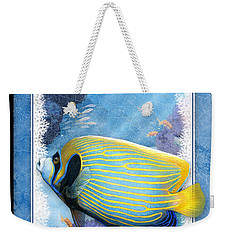 Emperor Angelfish Weekender Tote Bag