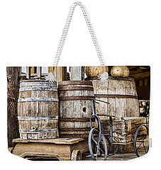 Emptied Barrels Weekender Tote Bag by Heather Applegate