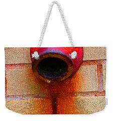 Weekender Tote Bag featuring the photograph Empty by Christiane Hellner-OBrien