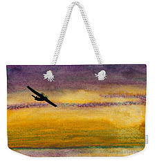 Empty Ocean Ahead - Pby Catalina Flying Boat From Wwii Weekender Tote Bag