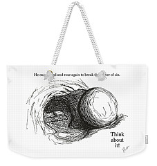 Empty Tomb Weekender Tote Bag by Jerry Ruffin