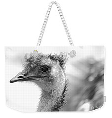 Emu - Black And White Weekender Tote Bag by Carol Groenen