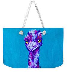 Emu Turquoise Weekender Tote Bag