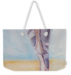 En Pointe Weekender Tote Bag by Donna Tuten