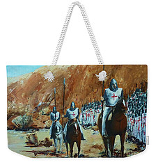 En Route To Battle Weekender Tote Bag